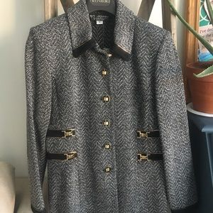 Gorgeous St.John Collection Overcoat